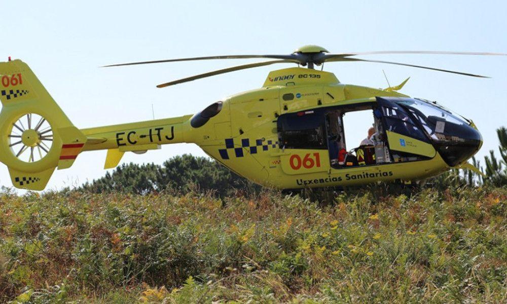 Trabajo expedienta a la empresa de helicópteros del 061