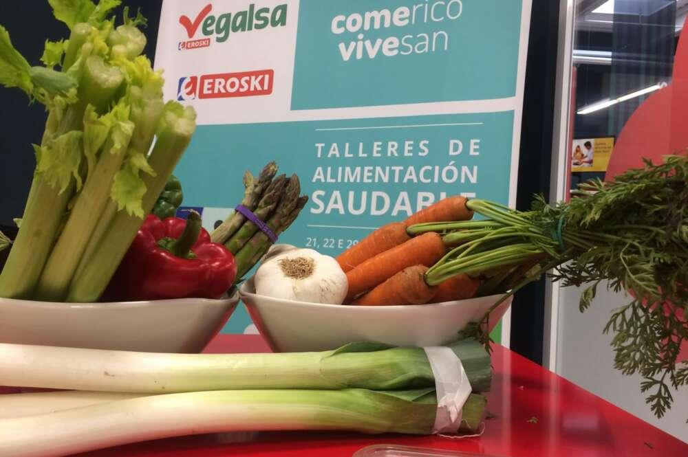 Vegalsa-Eroski se compromete con la alimentación saludable