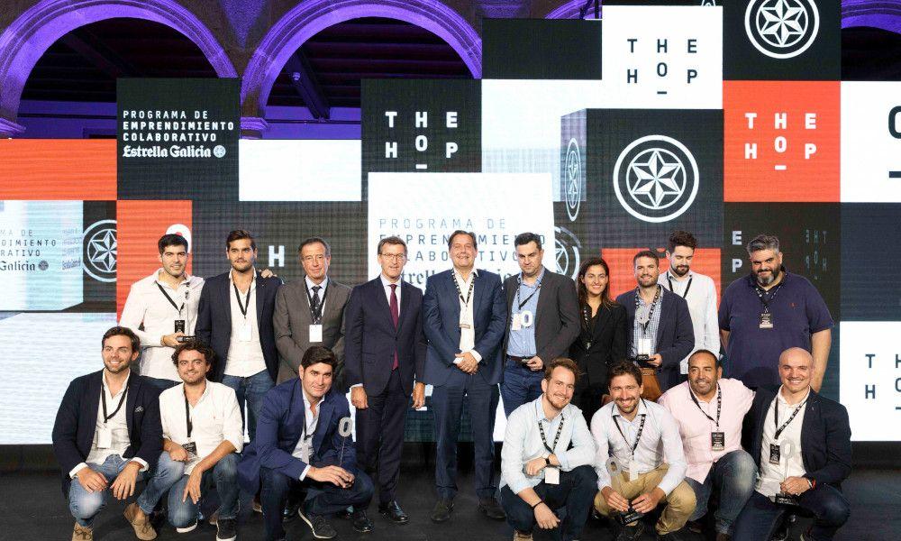 Estrella Galicia pasa la criba a las 12 startups de su 'The Hop'