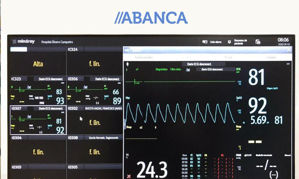 Abanca dona al Sergas equipos de alta tecnología contra el Covid-19
