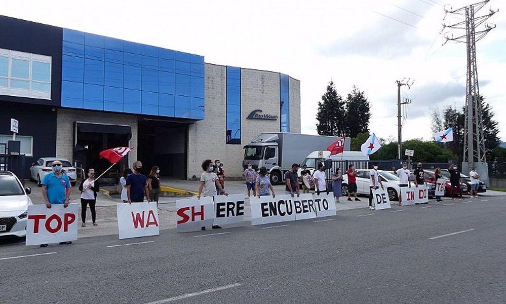 Personal de la 'tintorería de Inditex' se levanta contra los despidos
