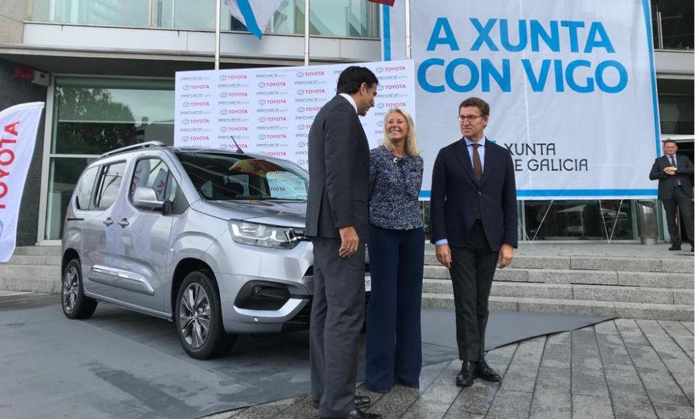 Toyota fabricará 35.000 furgonetas anuales en la factoría de PSA-Vigo