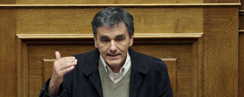 Tsakalotos toma posesión como ministro de Finanzas griego