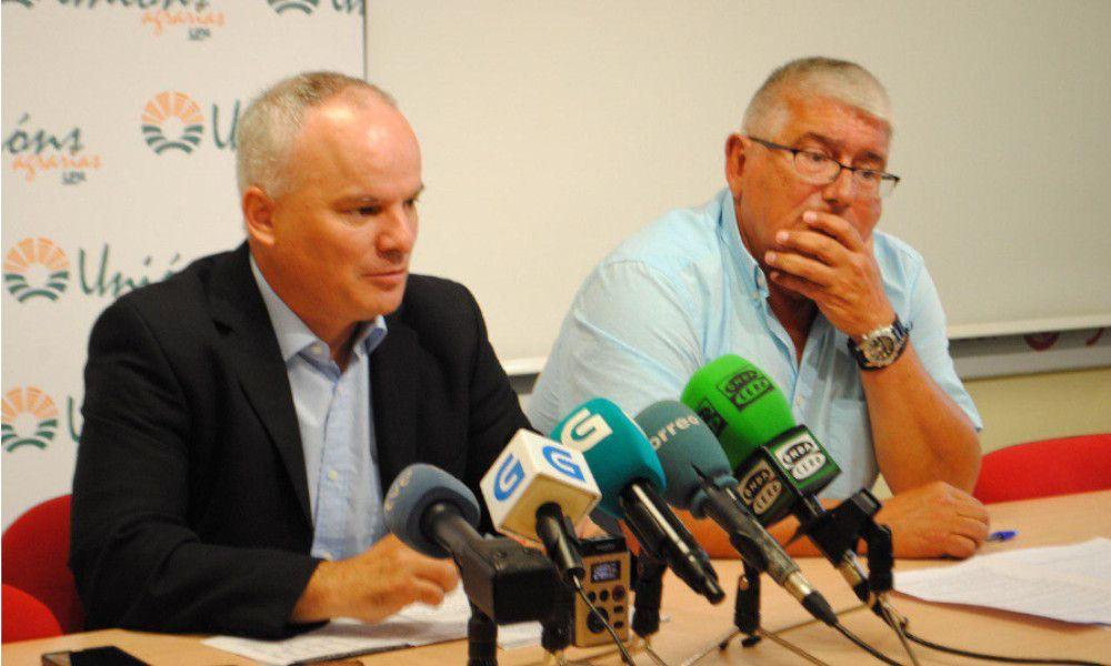 Los agricultores piden a la Xunta medidas contra los daños de jabalíes
