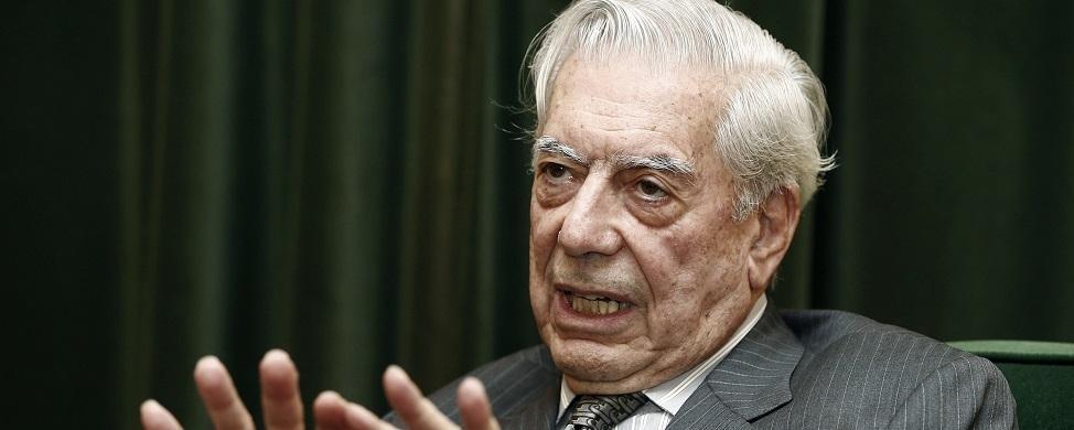 Vargas Llosa 'inaugura' la campaña electoral de Venezuela