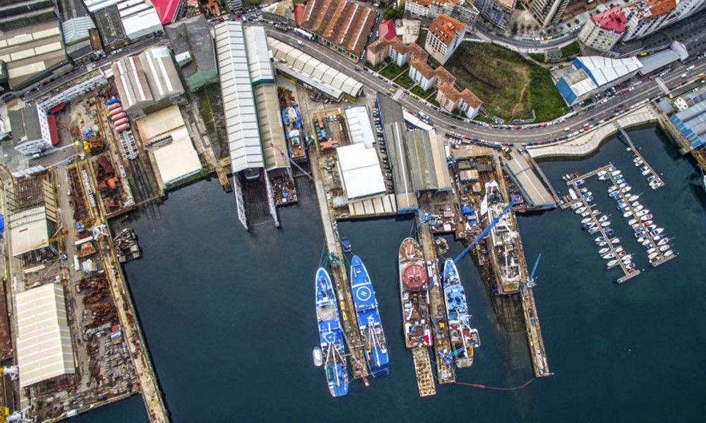 Abanca financia al astillero de la nueva flota de Pescanova