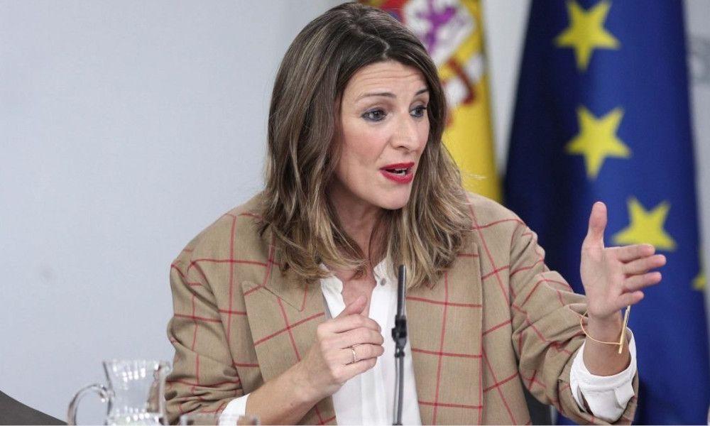 Yolanda Díaz prohibe los despidos durante la crisis del Covid-19