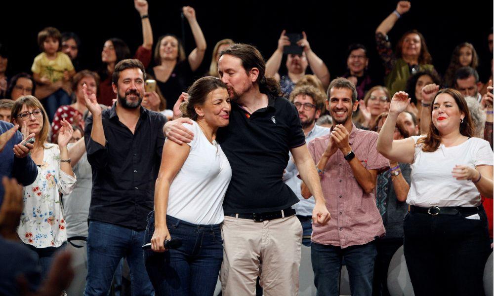 Trabajo o Industria: Podemos quiere a Yolanda Díaz de ministra