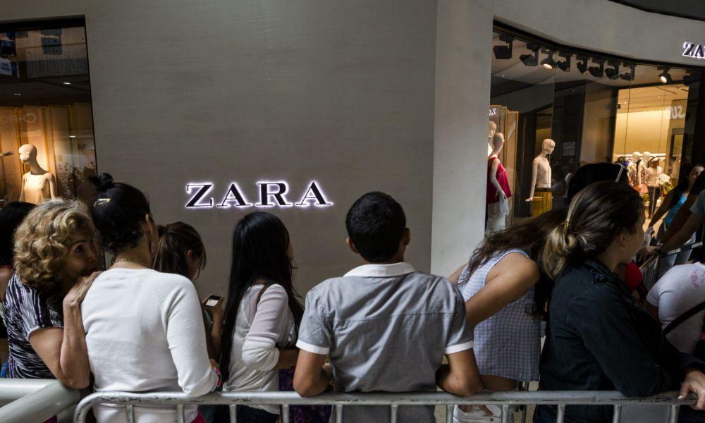 La marca Zara vale once veces más que Mercadona y el triple que BBVA