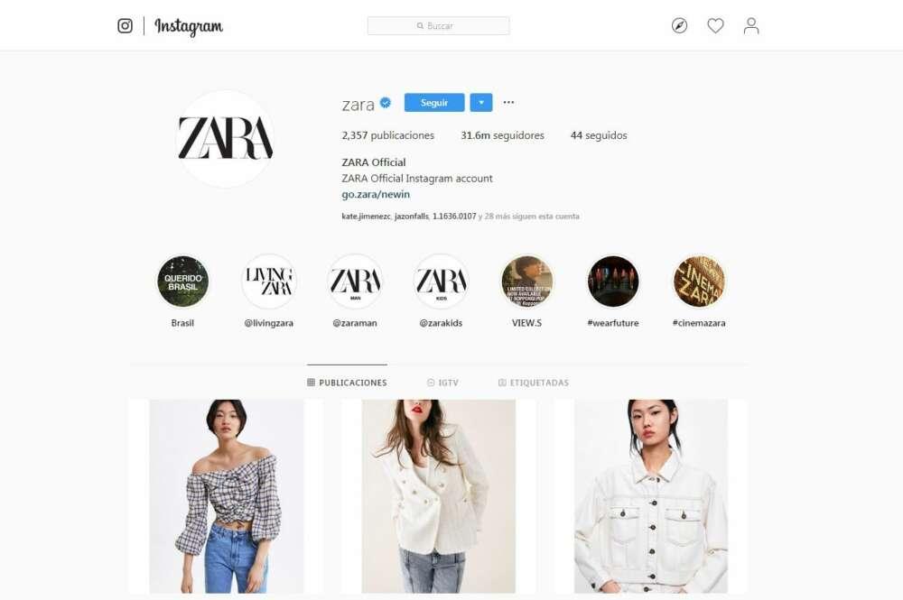 Instagram destrona a Facebook: ya es la primera red social de Inditex