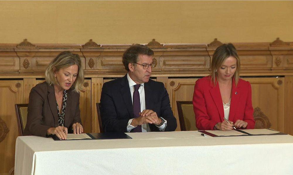 Donación récord de la Fundación Amancio Ortega a la Xunta: 90 millones