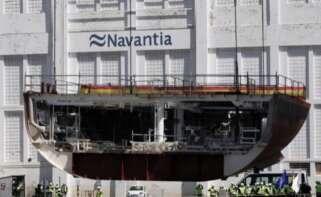 Imagen de archivo del astillero de Navantia en Ferrol / EFE