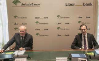 Liberbank fusión con Unicaja