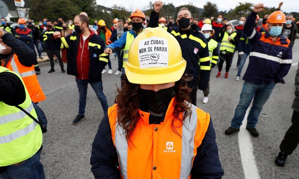 El coste de la huelga en San Cibrao para Alcoa: 150 millones
