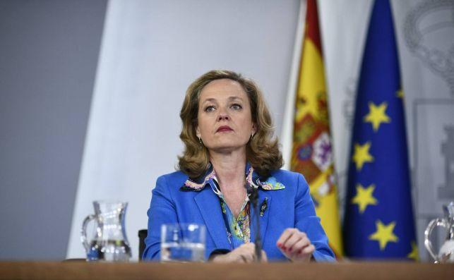 Nadia Calviño, vicepresidenta económica del Gobierno