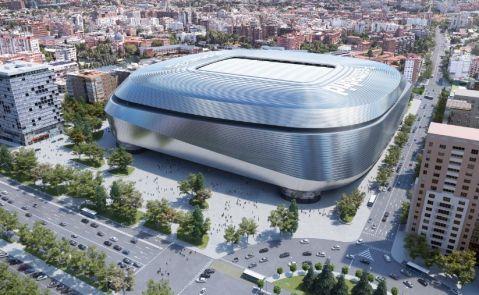 Proyecto de remodelación del Santiago Bernabéu