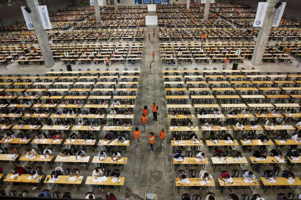 Examen de oposiciones en diciembre