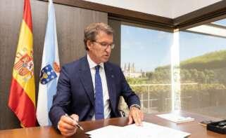 Feijóo plantea el traslado de Ence con fondos europeos