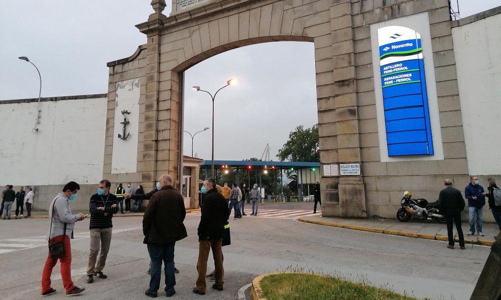 El comité de Navantia estalla contra el carrusel de cambios en la cúpula de Ferrol