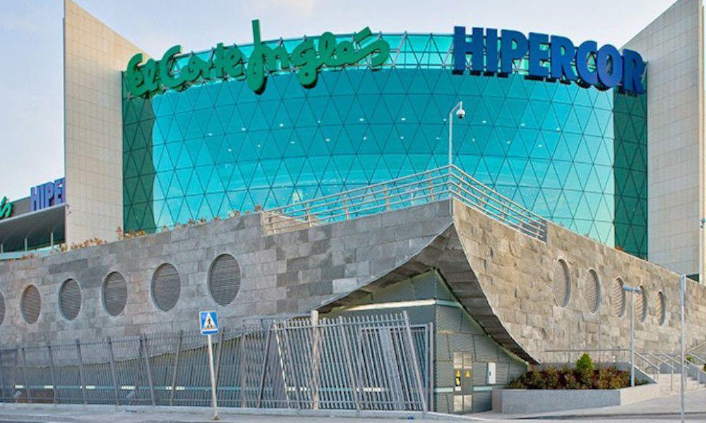 En la imagen, el centro comercial de El Corte Inglés en Marineda City (A Coruña).