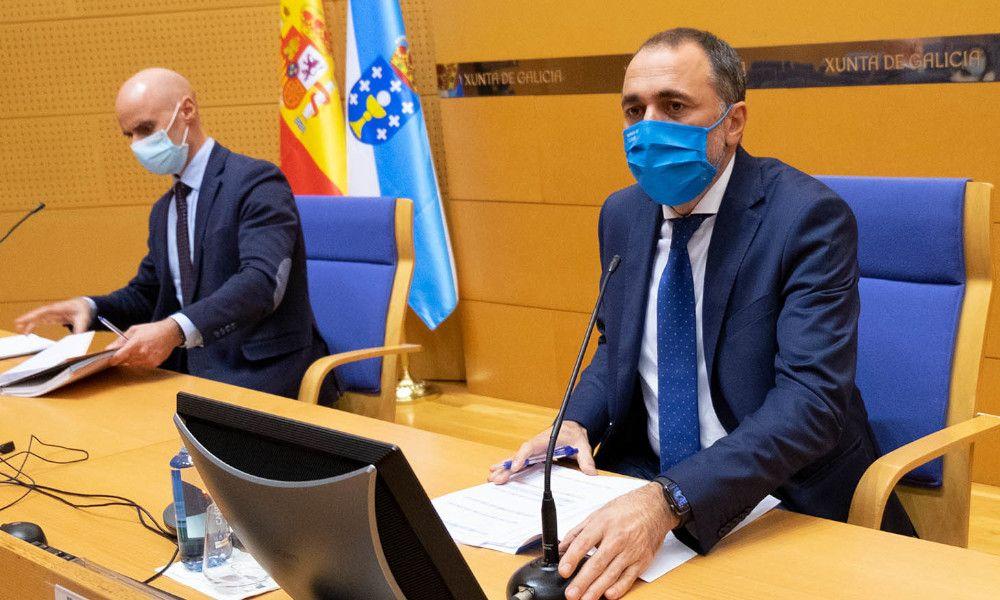 El conselleiro de Sanidade, Julio García Comesaña / Xunta