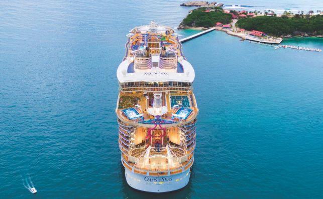 Oasis of the Seas foto Royal Caribbean
