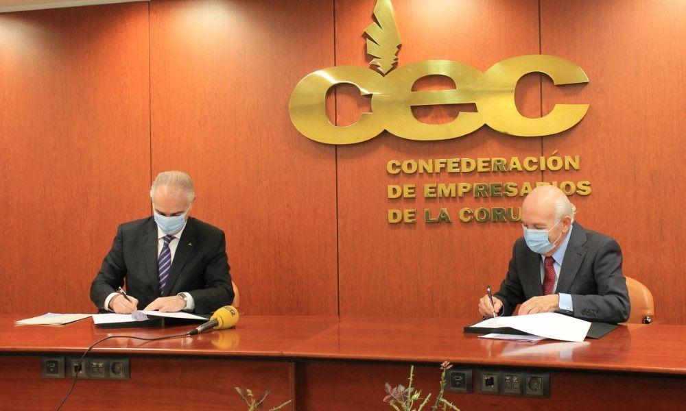 Covid-19: Abanca y CEC asesorarán sobre refinanciación a empresas