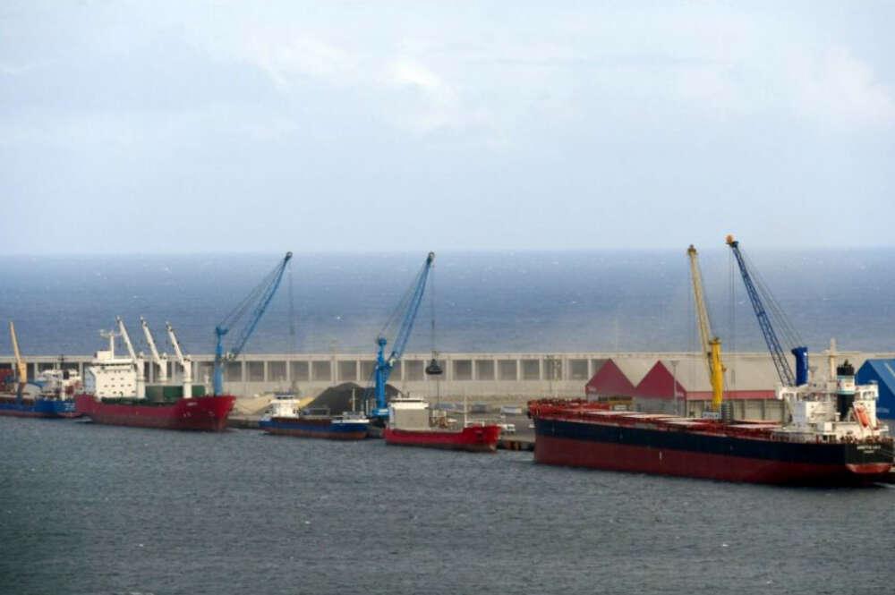 Imagen de archivo del Puerto Exterior de A Coruña en Punta Langosteira