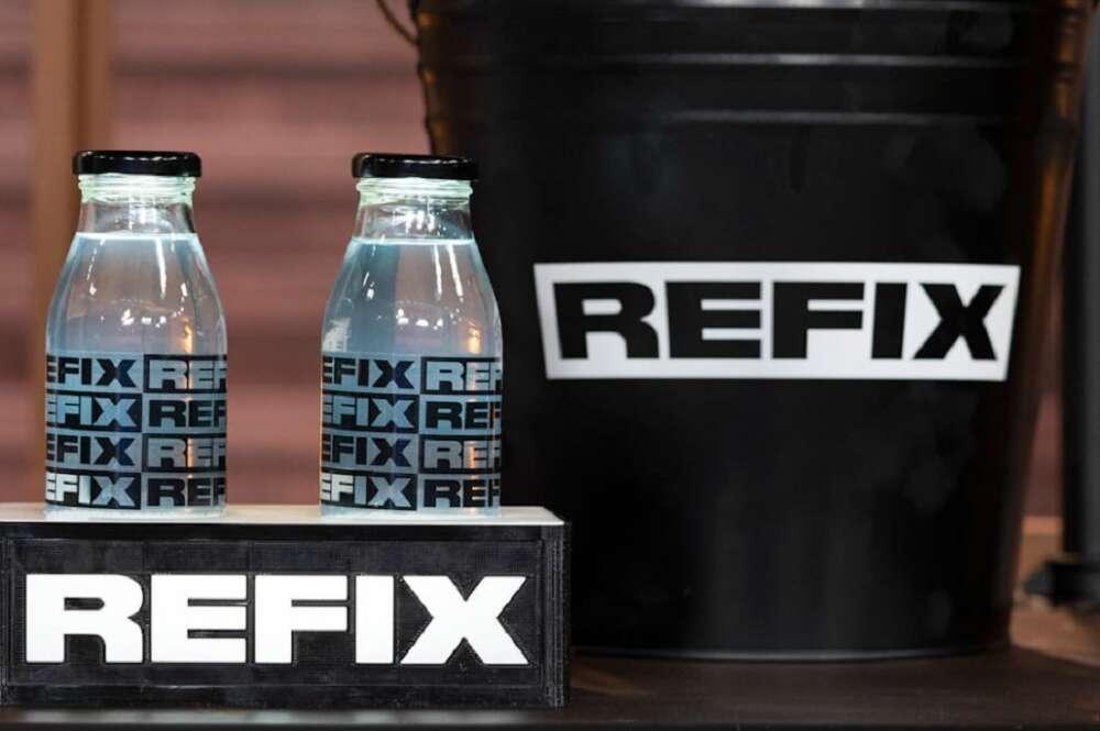 Refix, bebida gallega que emplea agua de mar de A Costa da Morte (Foto: Refix)