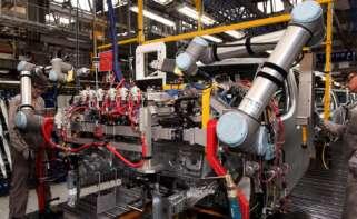 Trabajadores del sector de la automoción. EFE
