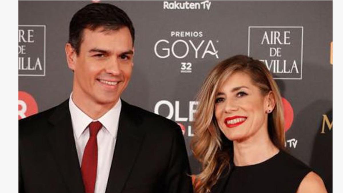 Pedro Sánchez y Begoña Gómez