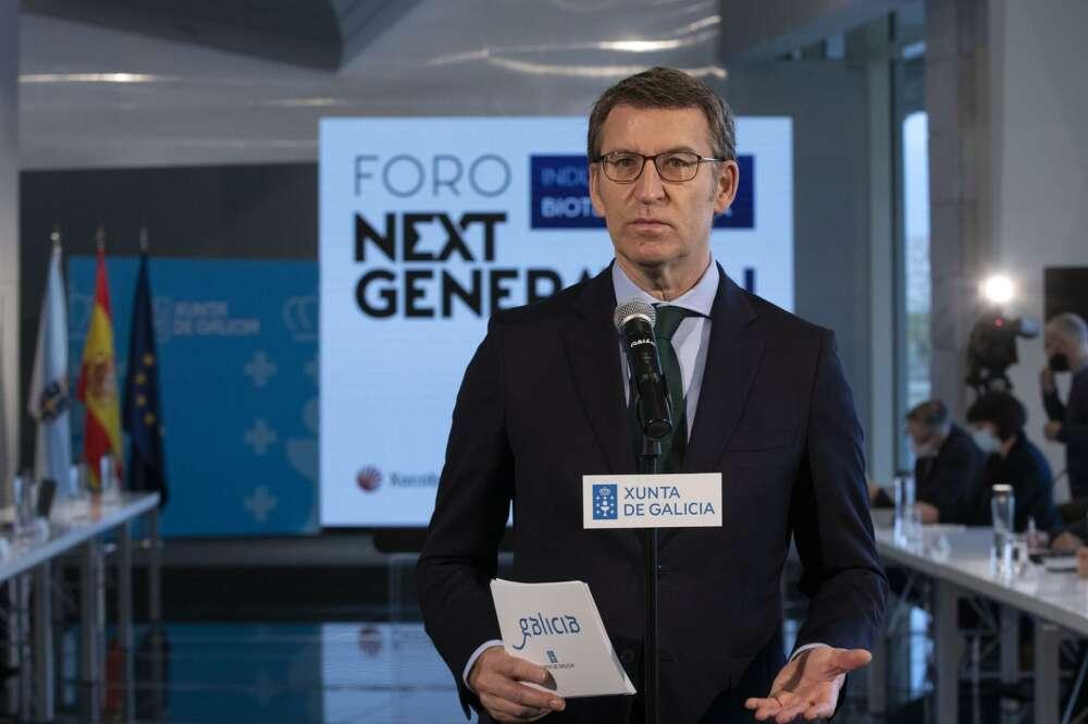 Feijóo avanza nuevas restricciones en hostelería, movilidad y deporte. Europa Press