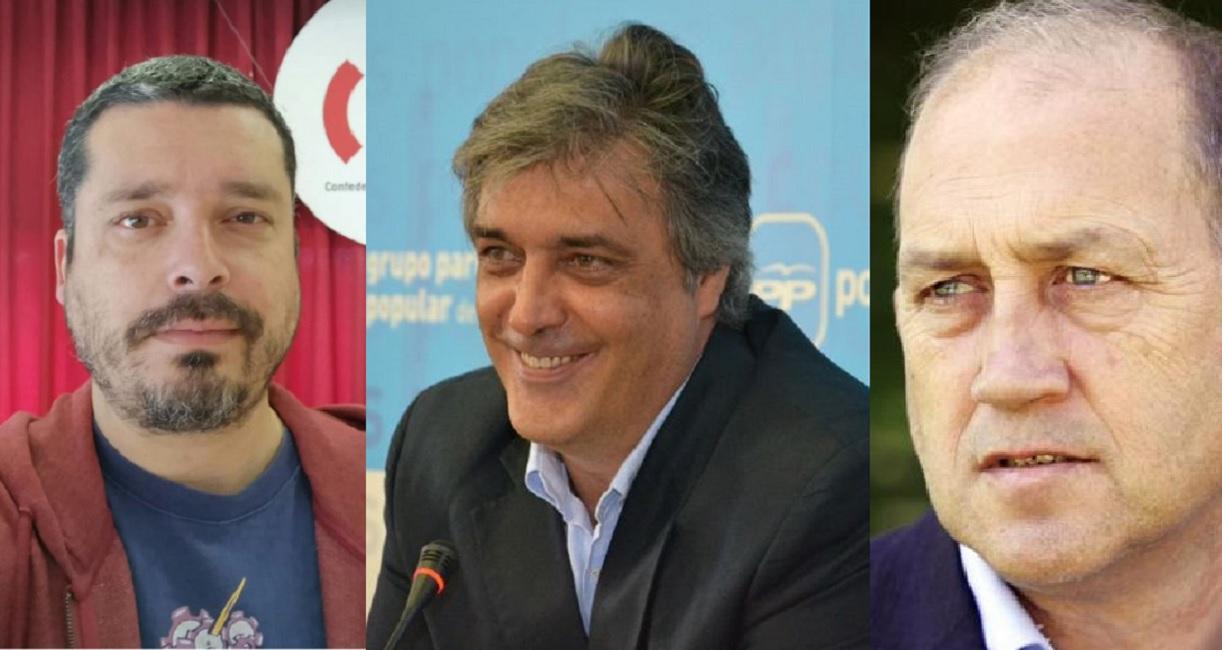 Mon Fernández, Pedro Puy y Xoaquín Fernández Leiceaga analizan el Atlas Gallego de la Empresa Comprometida