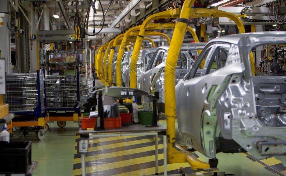 Trabajadores del sector de la automoción en Galicia