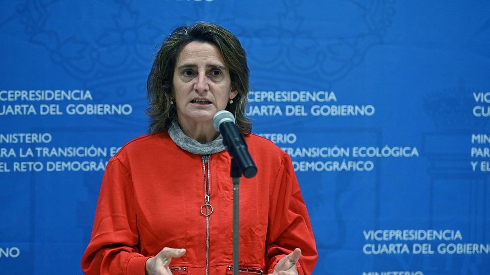 Teresa Ribera, ministra de Transición Ecológica. EFE