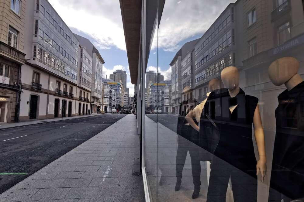 Tienda de Zara en A Coruña. EFE/Cabalar