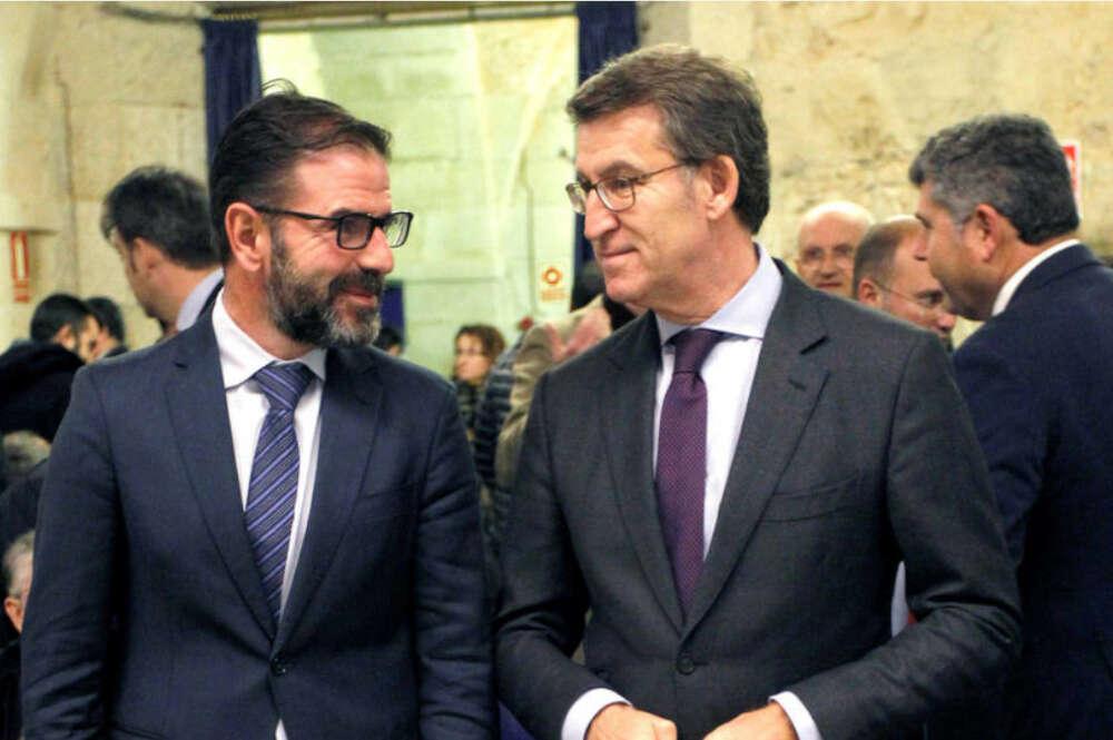 Ángel Mato y Alberto Núñez Feijóo