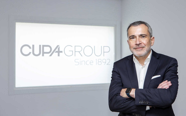 Javier Fernández, CEO de Cupa Group