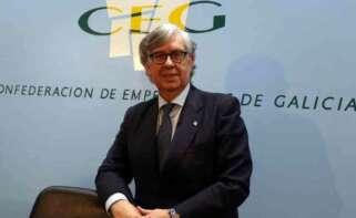 Juan Manuel Vieites, presidente de la Confederación de Empresarios de Galicia