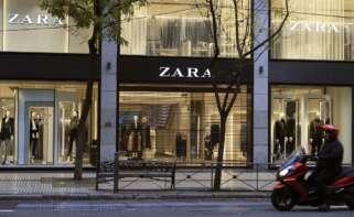 Tienda del grupo Inditex en Bilbao. EFE