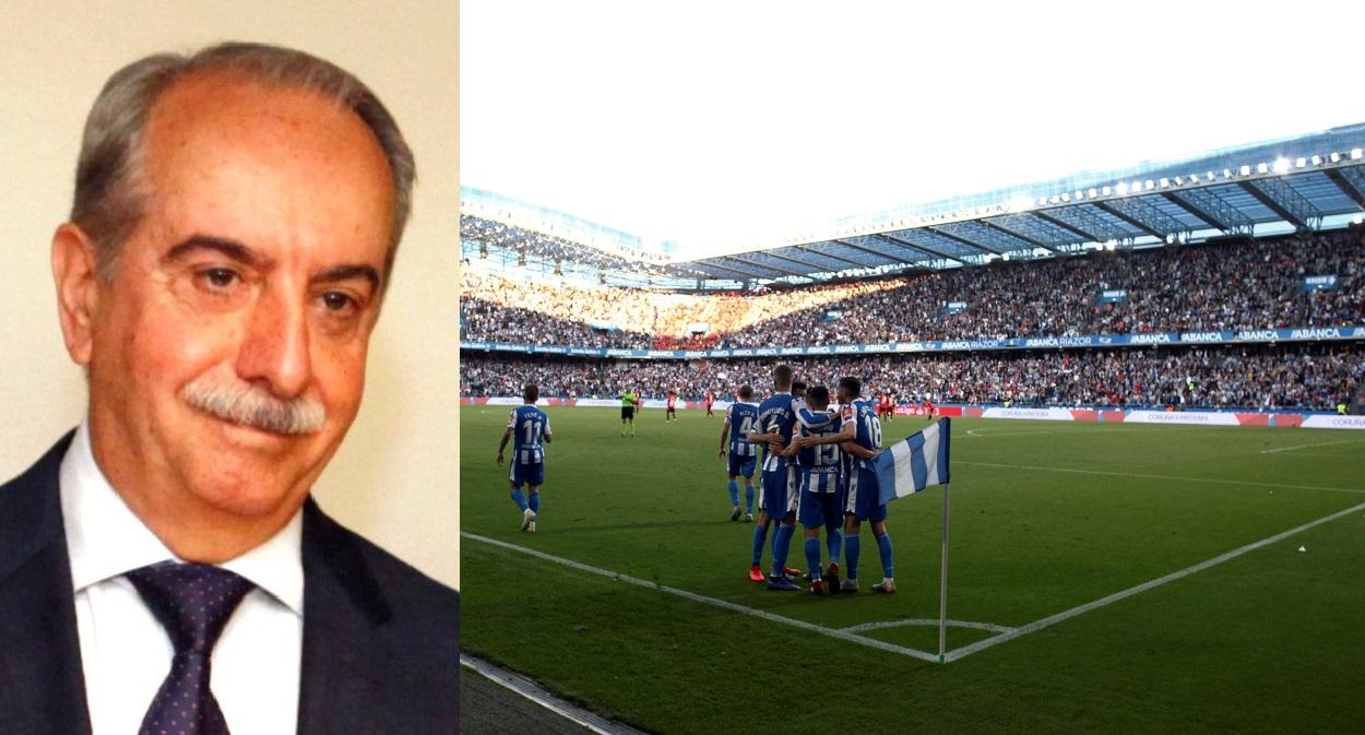 Antonio Couceiro, nuevo presidente de Deportivo de A Coruña