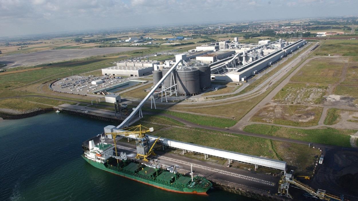Planta de aluminio de GFG Alliance en Dunkerque, Francia. Foto: GFG Alliance