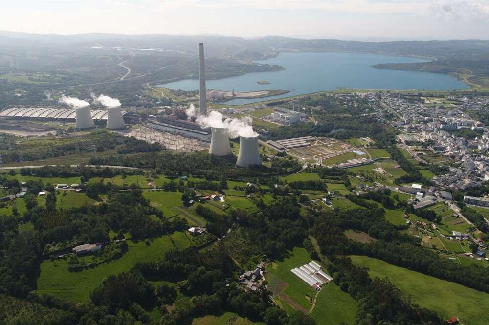 Endesa planea una planta de hidrógeno verde en As Pontes que se nutrirá de seis parques eólicos asociados.EFE