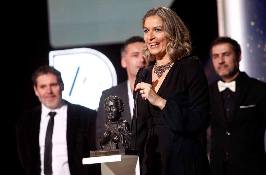 Emma Lustres en los XVII Premios Mestre Mateo
