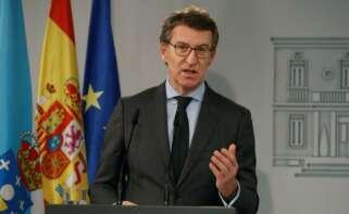 El presidente de la Xunta, Alberto Nuñez Feijoó. EFE/ J.J. Guillén