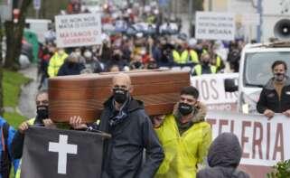 El PIB de Galicia se hunde más que en la Guerra Civil, pero menos que en España