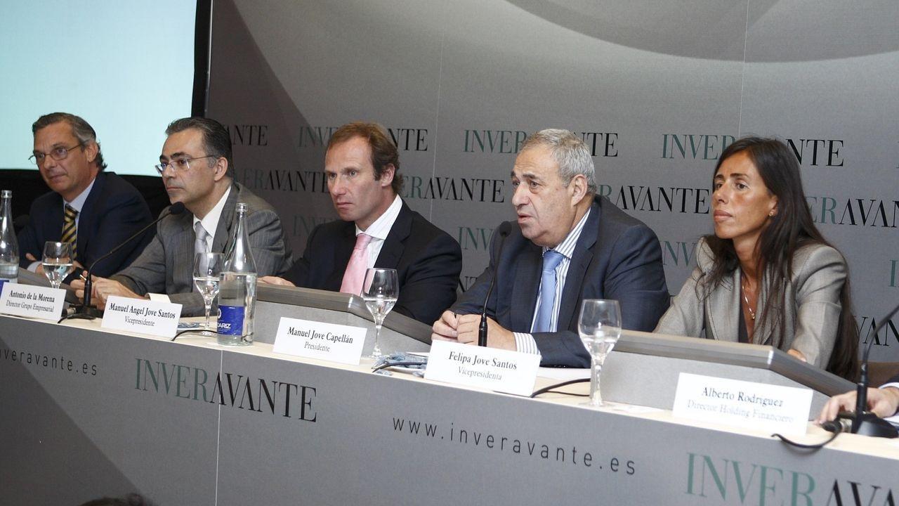 Inveravante, el holding fundado por Manuel Jove, creció con directivos que acomparon al histórico empresario ya en su etapa en Fadesa