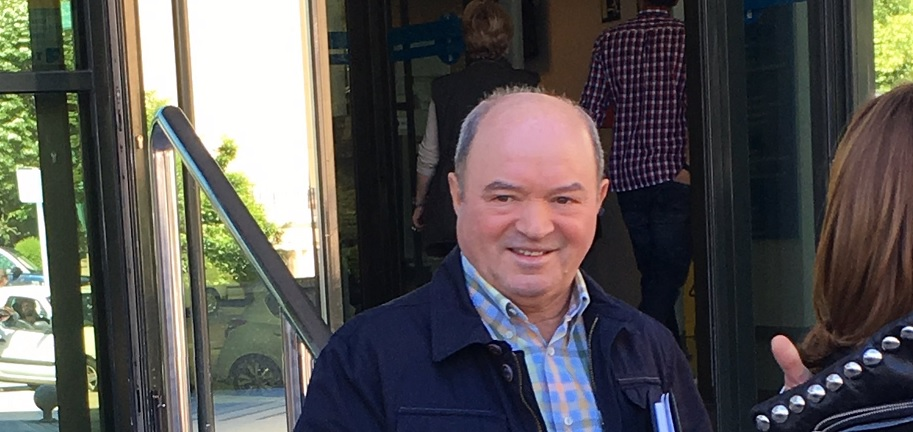 Francisco Liñares, expresidente de la Confederación Hidrográfica Miño Sil. E.P.