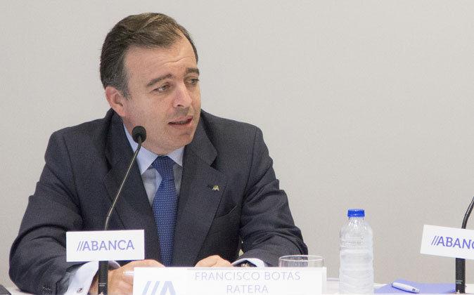Francisco Botas, consejero delegado de Abanca