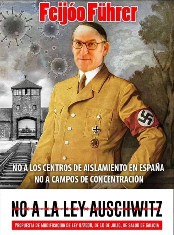 Grupos antifascistas se movilizarán contra la manifestación negacionista en Santiago